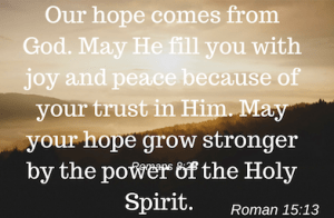 Hope in Love's God