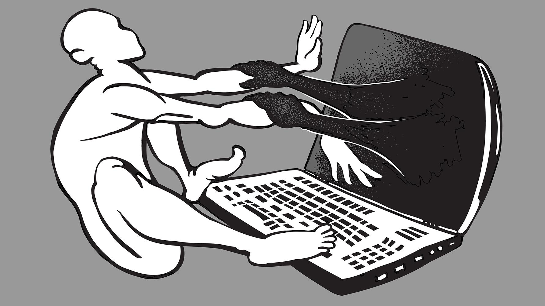 Technology-slave