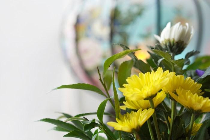 お盆にお供えする花の種類