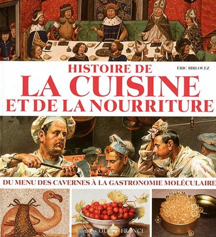 « Histoire De La Cuisine Et De La Nourriture  Du Menu Des