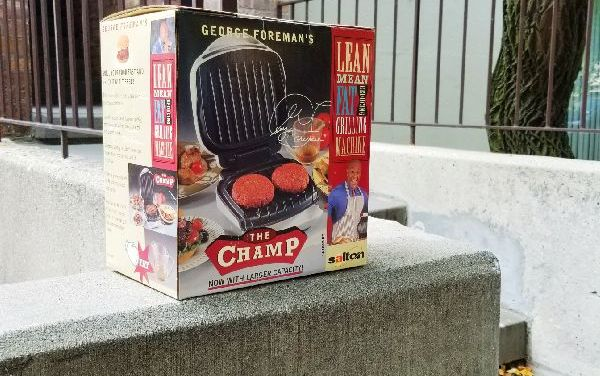 Lean Mean Grill Abandoning Machine (Part 1)
