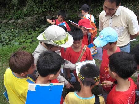 戶外教學:東山濕地~與水生生物做朋友活動花絮