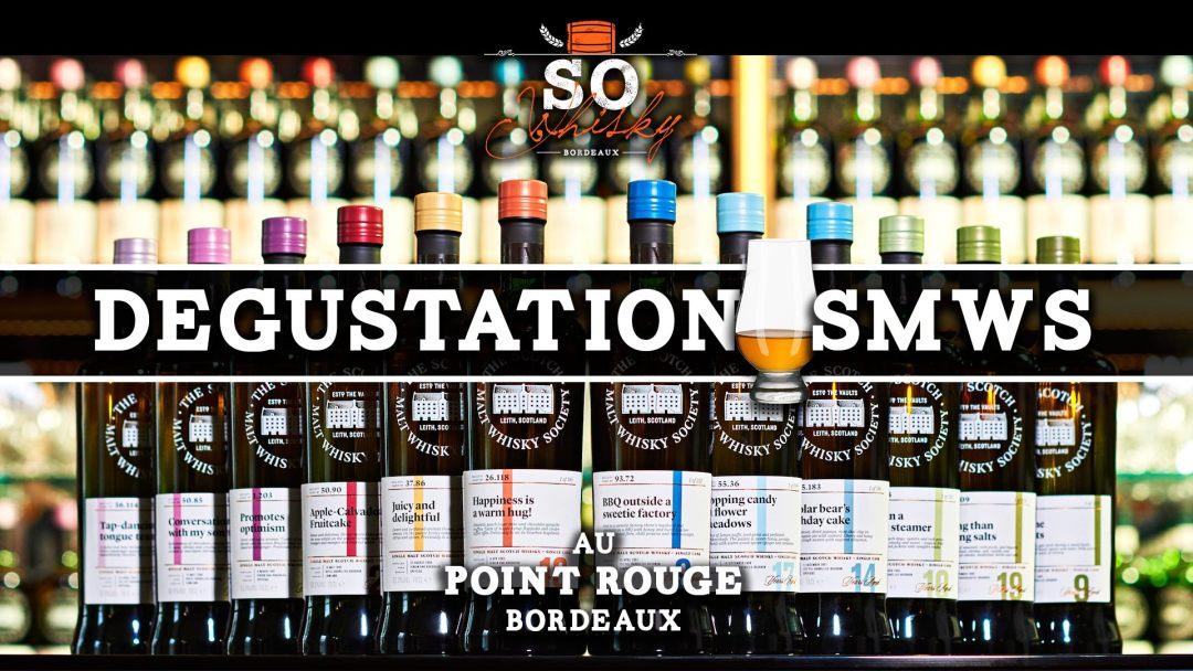 Dégustation de whisky de la SMWS au Point Rouge à Bordeaux