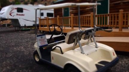 Community golf carts
