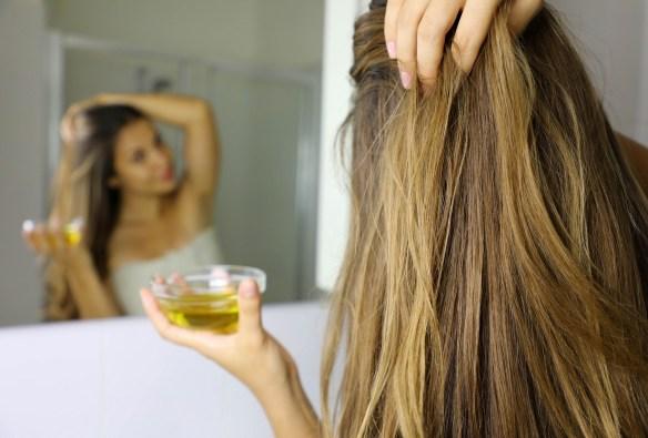 vitamin E oil for hair