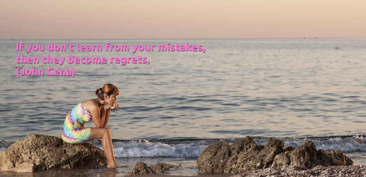 Mistakes and regrets