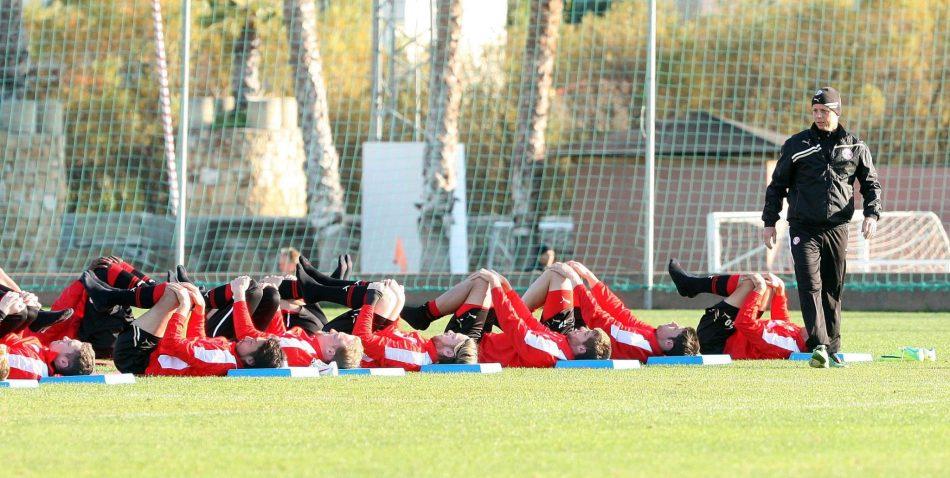 Training Fortuna Düsseldorf