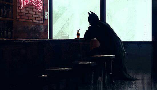 La soledad de ser Batman