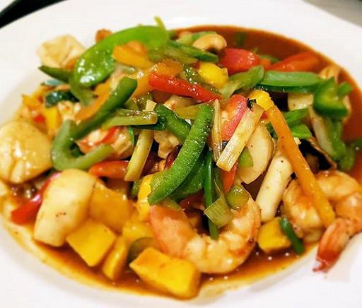 Mango Seafood Platter Delaware 2019
