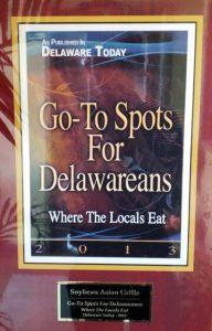 2013 Go To Spots for Delawareans