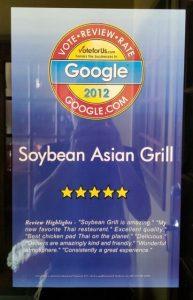 Google.com 2012 Winner Thai Restaurant
