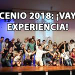 Scenio 2018 ¡Vaya experiencia!