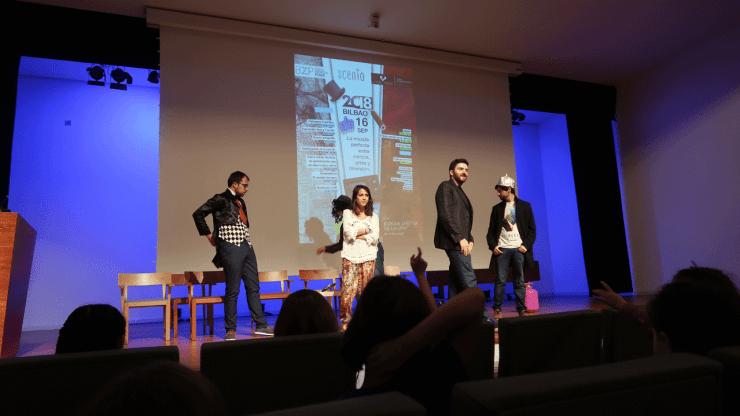 Imagen del espectáculo 'Magufo Challenge' en Scenio Bilbao 2018