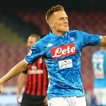 Zielinski: «¿Yo con Sarri en la Juve? Si me llama, no responderé»