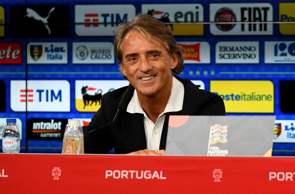 Azzurra I Convocatoria de Roberto Mancini