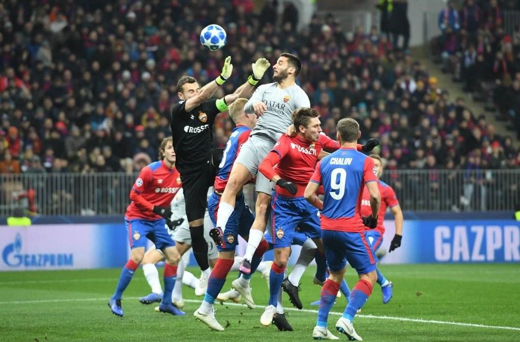 El CSKA de Moscú 1-2 AS Roma en cinco detalles