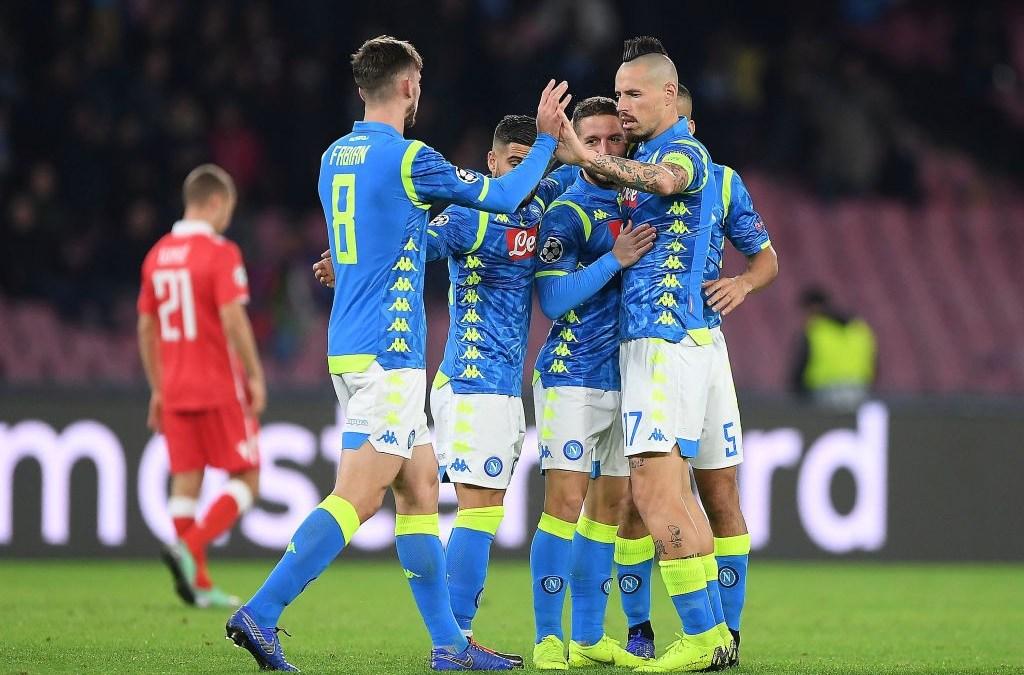 El Napoli 3-1 Estrella Roja en cinco detalles