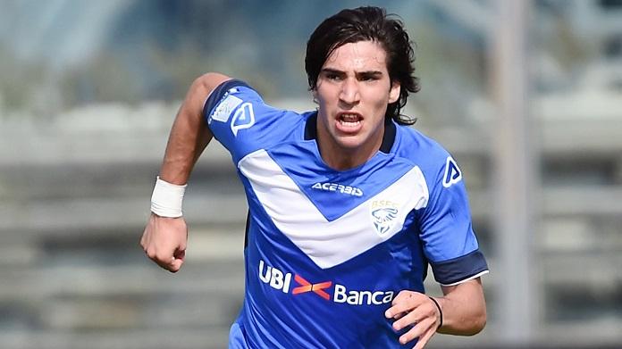 La Roma prepara una oferta por Sandro Tonali