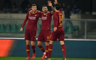 El Chievo 0-3 Roma en cinco detalles