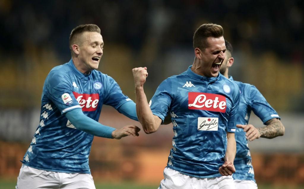 El Napoli, el equipo que menos posesión necesita para disparar a puerta