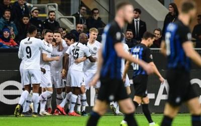 El Inter de Milán 0-1 Eintracht de Frankfurt en cinco detalles