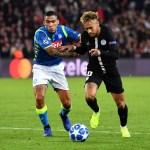 Allan desvía los rumores del PSG: «¿Mi futuro en el Napoli? Espero que sí»