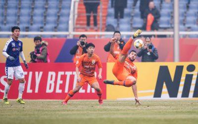 Doblete de Graziano Pellè en la AFC Champions League