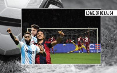 El Torino sueña con la Champions y el Milan se hunde I Lo mejor de la J34 en la Serie A