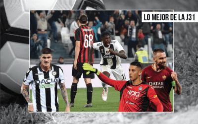 La Juventus gana al Milan, De Rossi, Udinese… I Lo mejor de la J31 en la Serie A