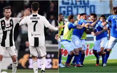 Juventus y Brescia, entre los mejores locales de Europa