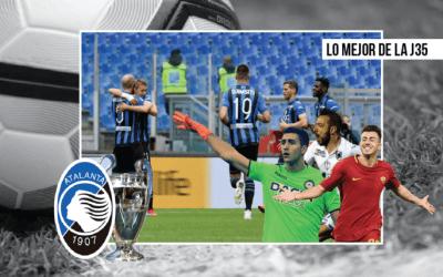 Lo más destacado de la jornada 35 de la Serie A