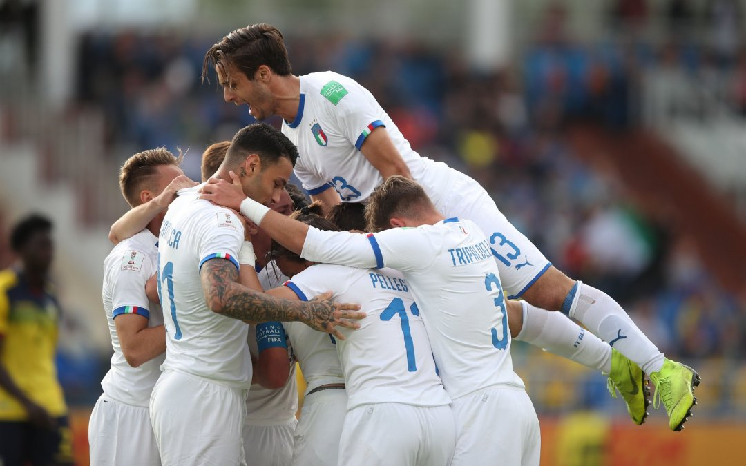 Italia gana a Ecuador y ya está en octavos del Mundial Sub20