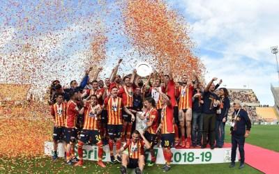 La US Lecce asciende a Serie A