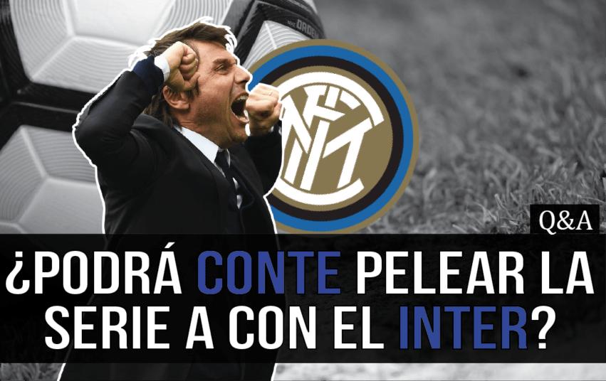 ¿Podrá Conte llevar al Inter de Milán a pelear con la Juventus?