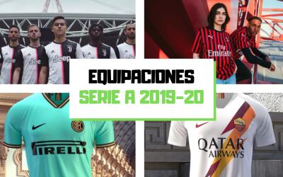 Las camisetas de la Serie A 2019-20