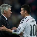 Ancelotti: «El Napoli y James siguen hablando pero no es la única opción»