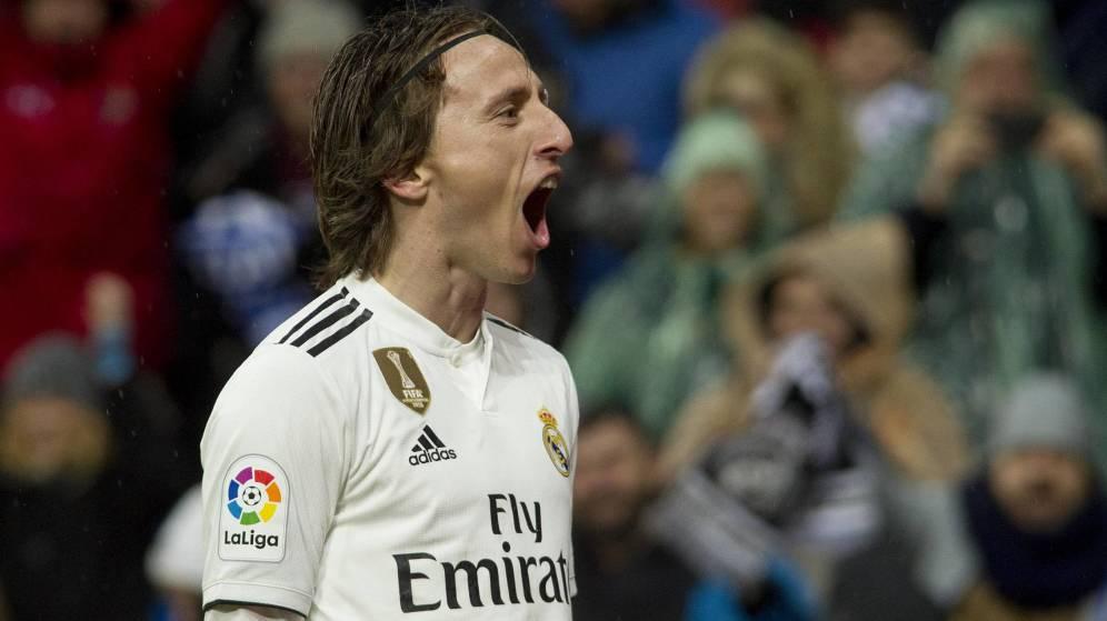 El agente de Luka Modric se reúne con el Milan