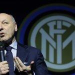 Marotta: «El mercado del Inter está cerrado. No habrá más fichajes»
