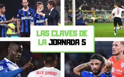 Las claves de la jornada 5 en la Serie A 2019-20