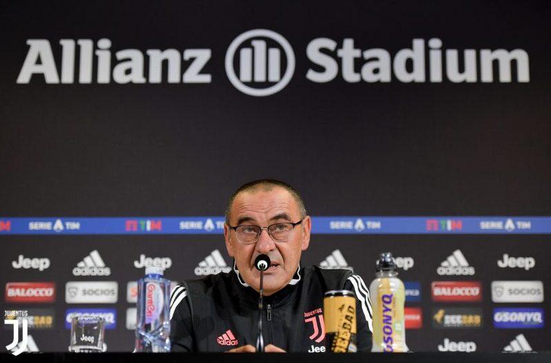 Sarri: «Al 99%, Cristiano Ronaldo no jugará contra la Atalanta»
