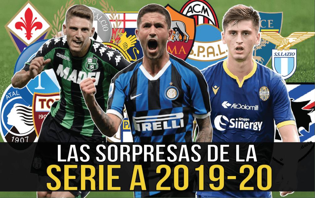 Las sorpresas de la Serie A 2019-20