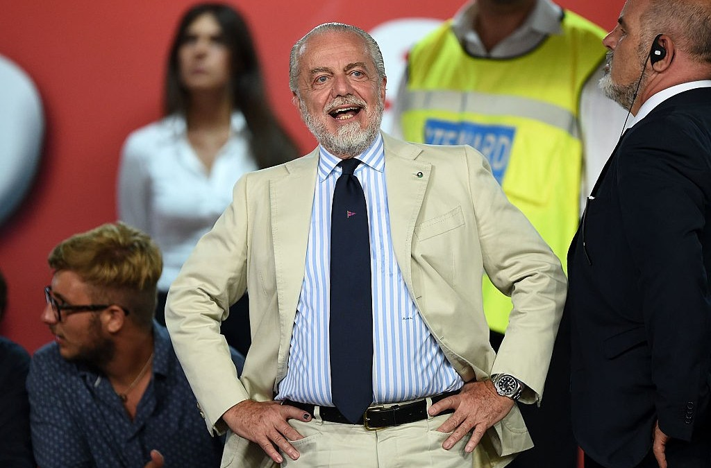 De Laurentiis: «Quieren envenenar el juego más bonito del mundo»