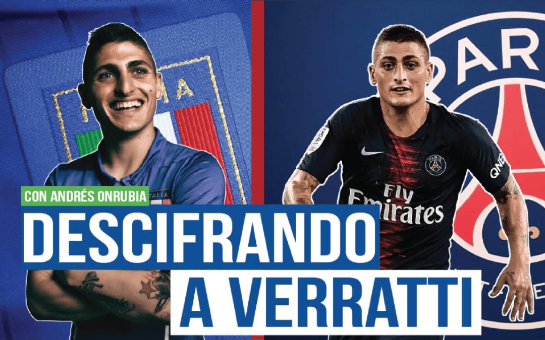 Análisis I ¿Es Marco Verratti un centrocampista top?
