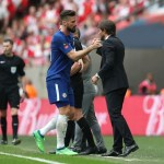 El Inter hace caso a Conte y ya se ha reunido con los agentes de Giroud