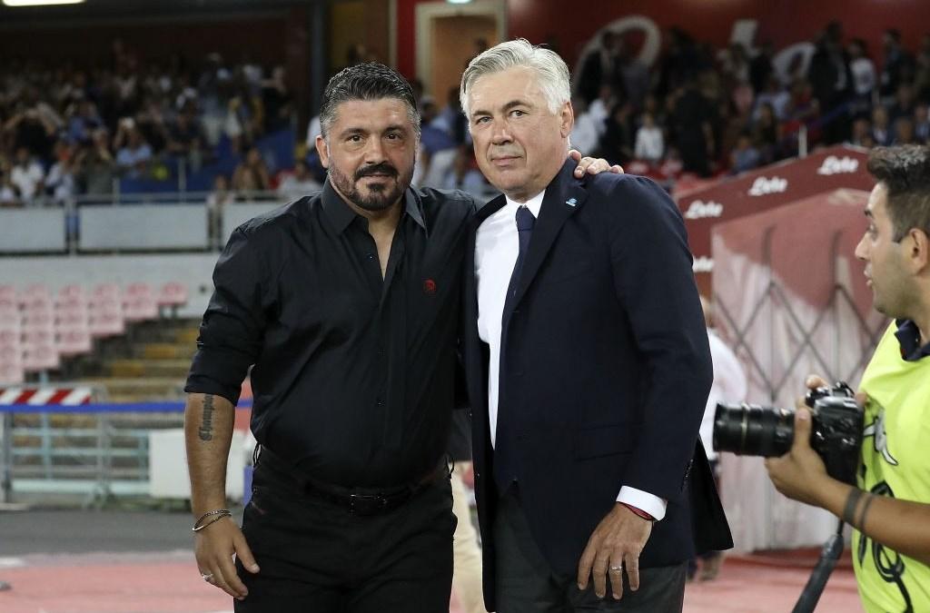 Gattuso, principal candidato del Napoli para reemplazar a Ancelotti