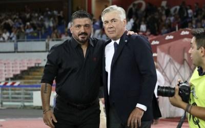 Gattuso cobra fuerza como reemplazo de Ancelotti