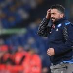 Gattuso: «El Napoli es un equipo que sufre mentalmente»