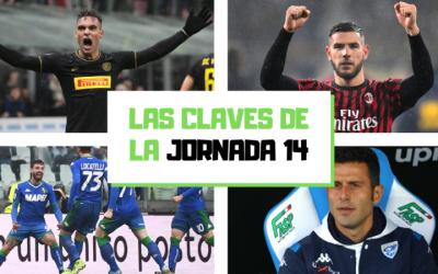 Análisis de la jornada 14: El Inter recupera el liderato