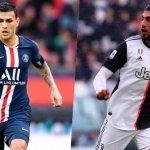 Posible intercambio Emre Can-Paredes entre Juventus y PSG