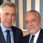 De Laurentiis: «Sigo siendo amigo de Ancelotti»